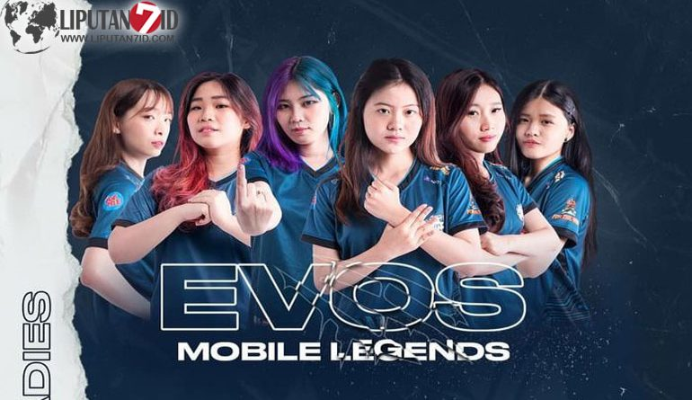 EVOS Ladies Memenangkan Female Gaming League Mobile Legends Minor Series 1